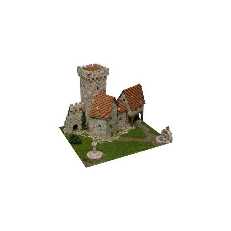 Aedes 1256. Maqueta de construcción Medieval Tower
