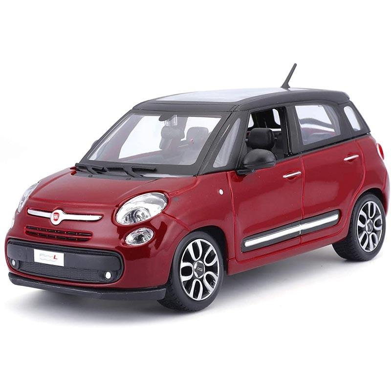 1/24 Fiat 500L Rojo/Negro
