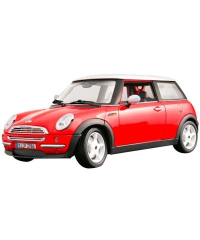 1/18 Mini Cooper Rojo/Blanco