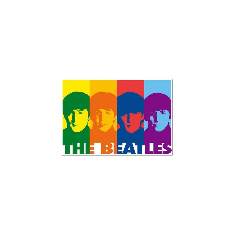 14471. Puzzle Educa 1000 piezas The Beatles Pop Art