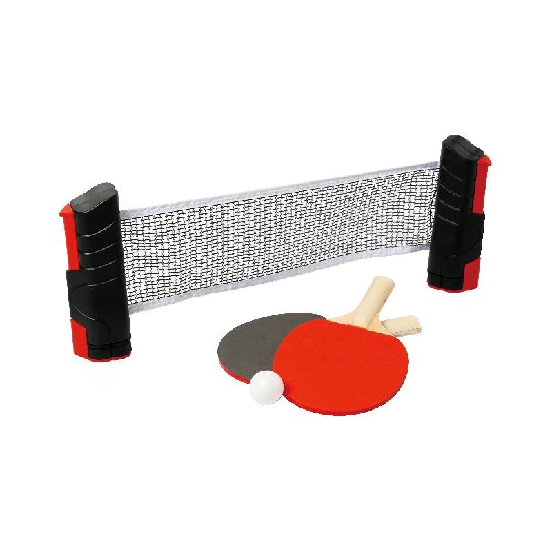 Set Ping Pong de Viaje Red Ajustable y Raquetas