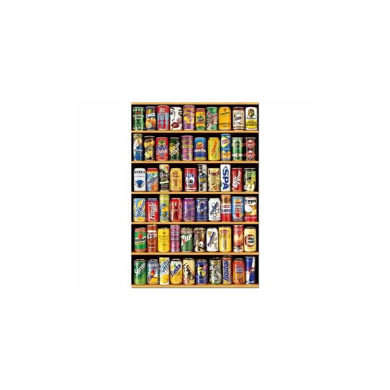14446. Puzzle Educa 1500 piezas Latas