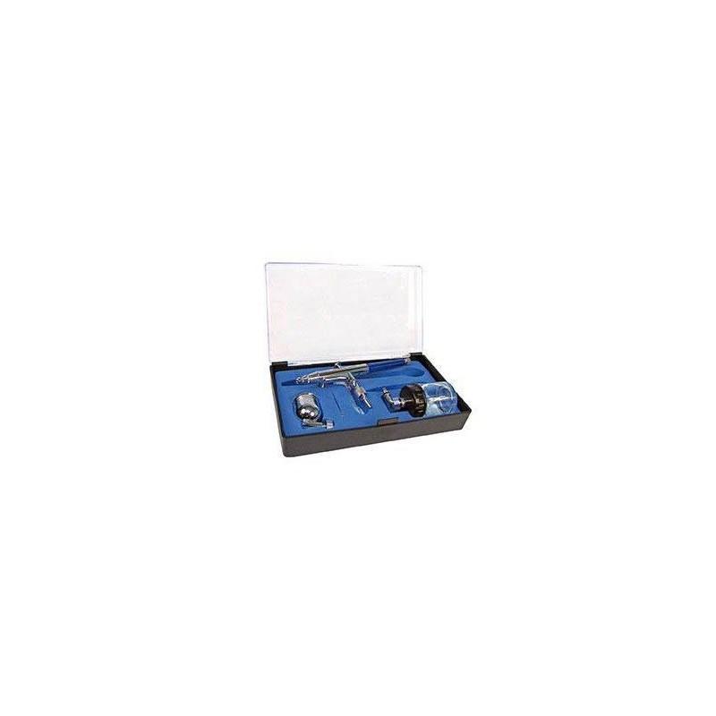 Artesanía Latina 27082. Aerógrafo doble acción de toma lateral
