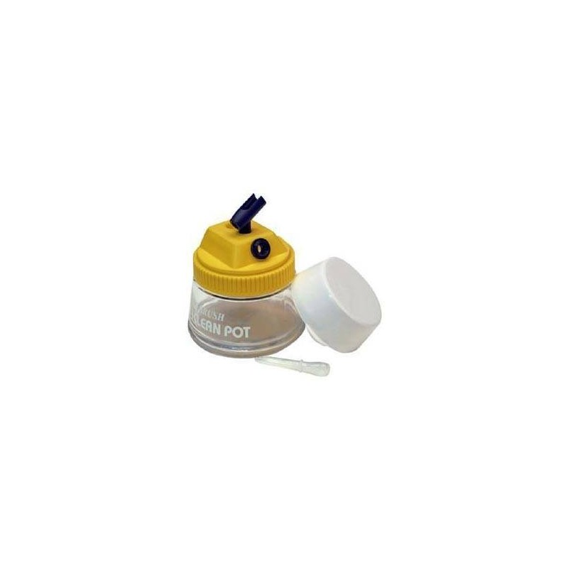 Artesanía Latina 27089. Estación limpieza aerógrafo con soporte