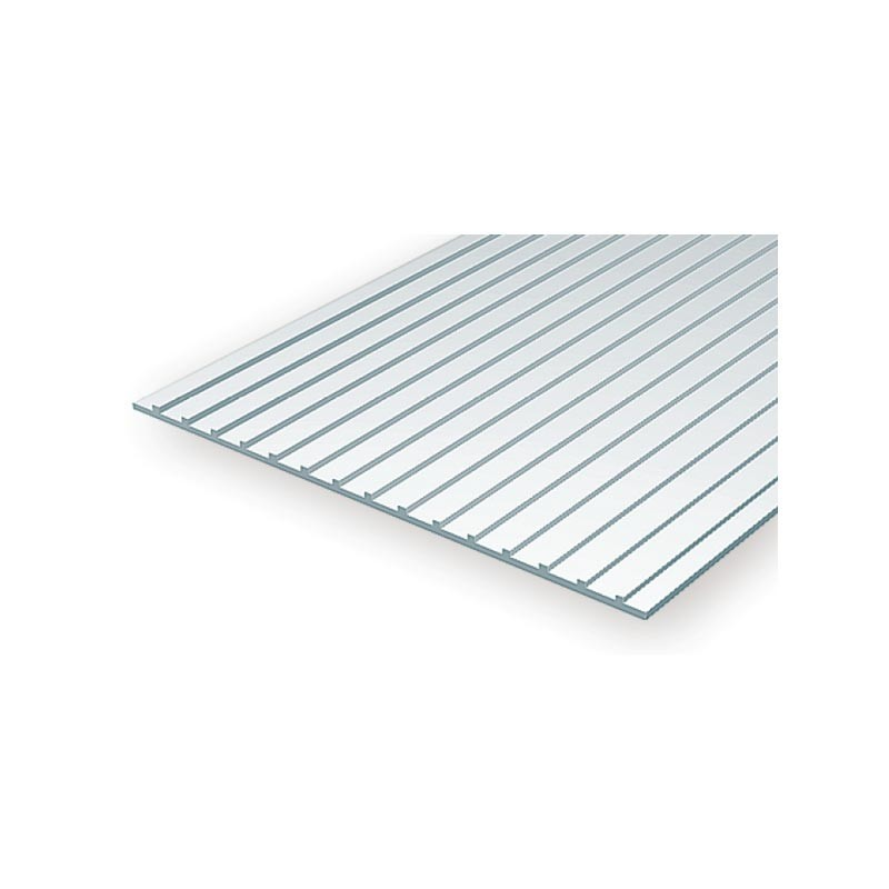 Placa Metal Roofing 12.7x1.0 mm