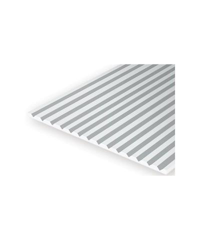 Placa V-Groove 6.3x1.0 mm