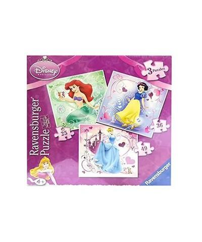 3 Puzzles Progresivos Princesas Disney