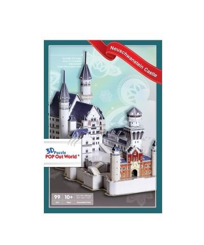 Puzzle 3D 99 Piezas Castillo de Neuschwanstein