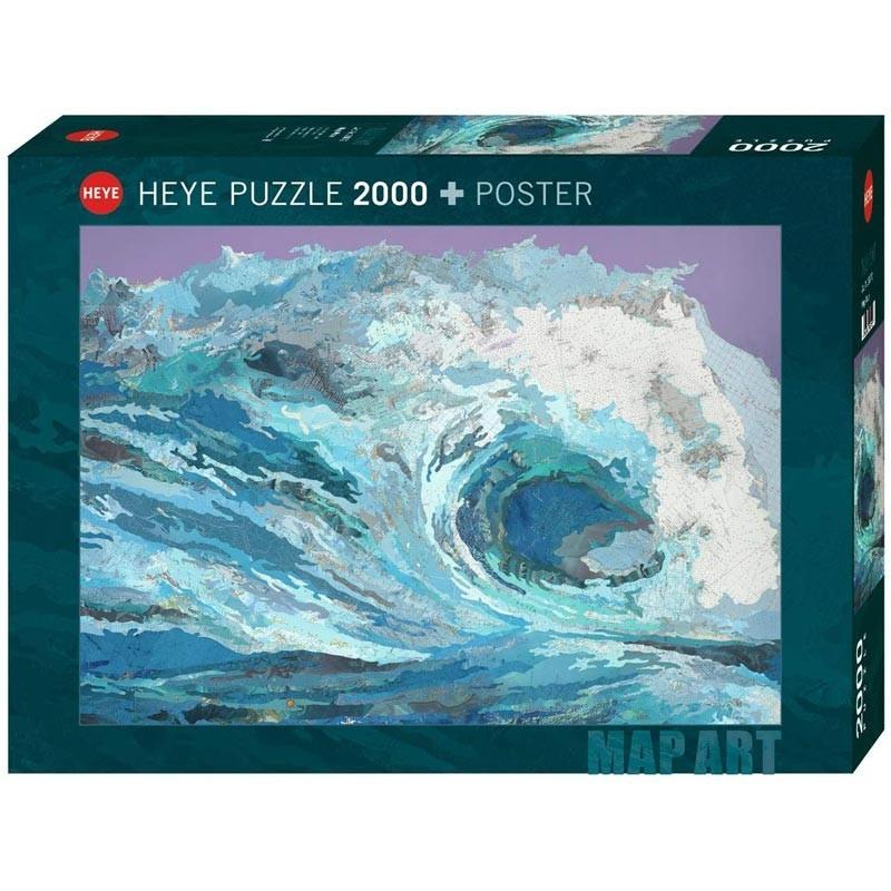 Puzzle 2000 Piezas La Ola