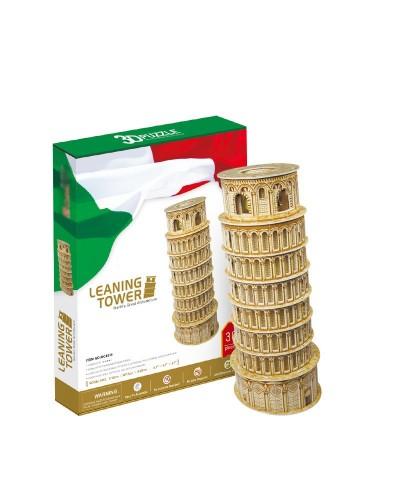 Puzzle 3D 11 Piezas Torre de Pisa