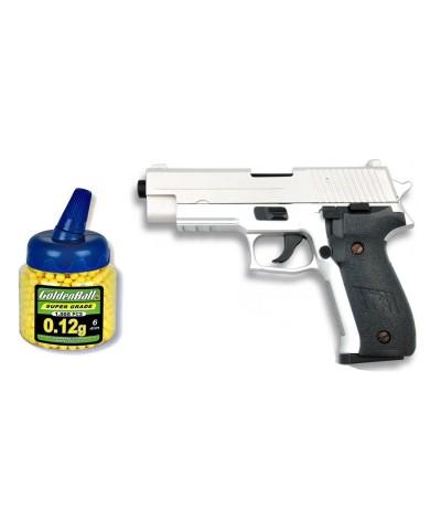 35533 Martínez. Pack Pistola airsoft Cyma metálica