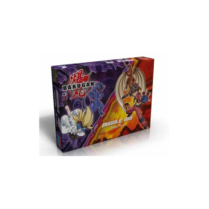 11906. Puzzle Falomir 100 piezas, Bakugan Battle Brawlers
