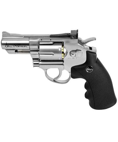 Revólver Dan Wesson 2.5 Pulgadas Plata