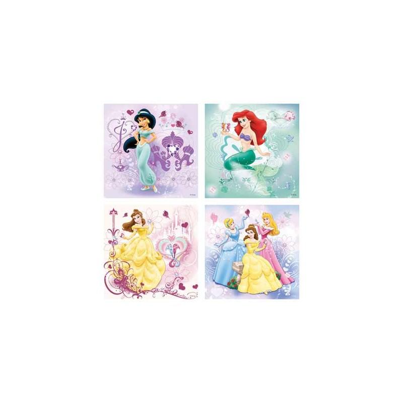 70411. Puzzle Ravensburger 2x25,2x36 piezas, Princesas