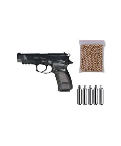 ASG17302 Gamo. Pack Pistola perdigón Bersa Thunder 9 Pro 4,5mm