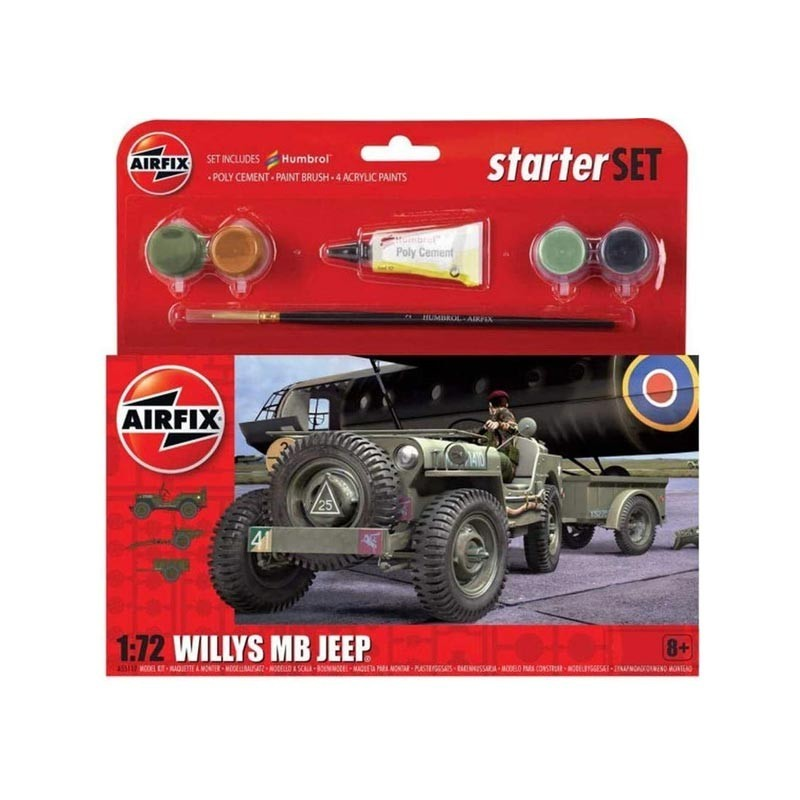 1/72 Kit Jeep Willys MB