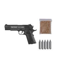 111647 Gamo. Pack pistola Perdigón Red Alert RD-1911 Cal.4,5mm