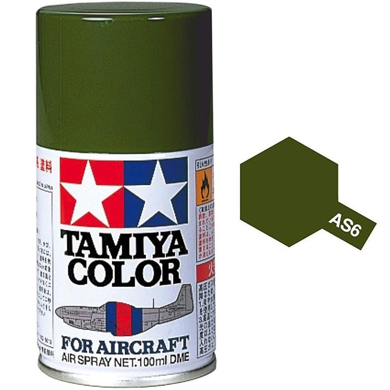 Spray AS-6 Pintura Esmalte Gris Oliva