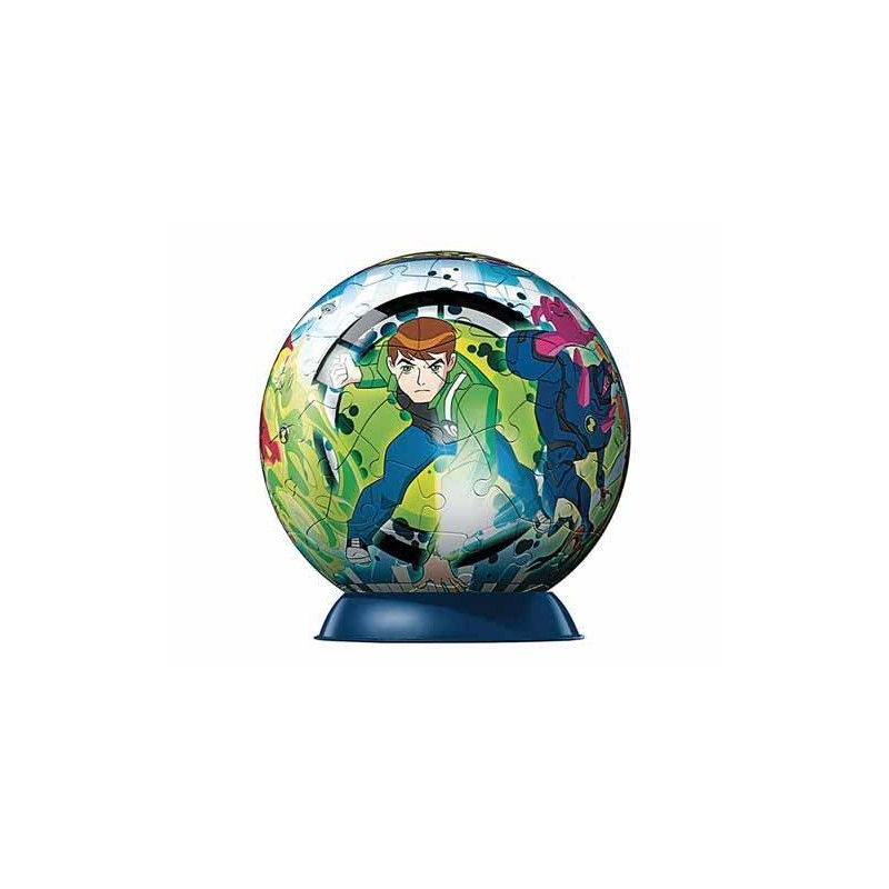 97012. Puzzle Ball 60 piezas Ravensburger, Ben 10 Alien Force