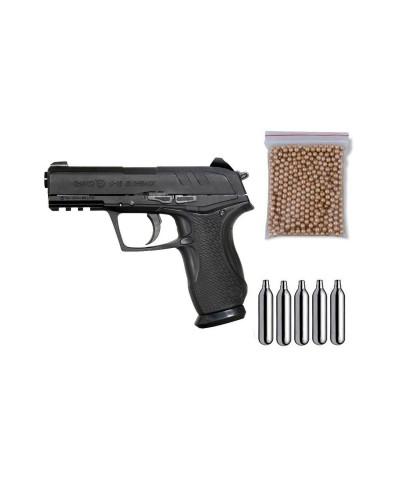 111390-P Gamo. Pack Pistola perdigón C-15 Blowback Cal.4,5mm