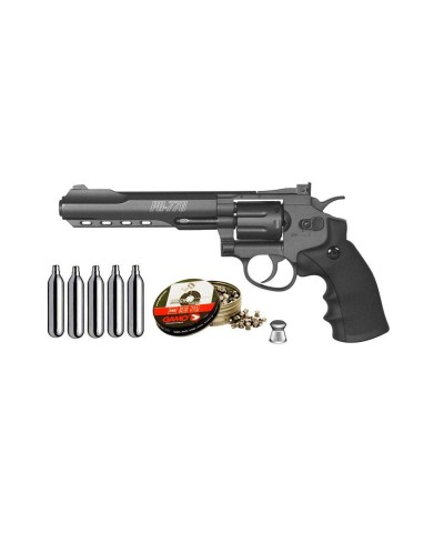 111396 Gamo. Pack Revólver perdigón PR-776 Cal.4,5mm