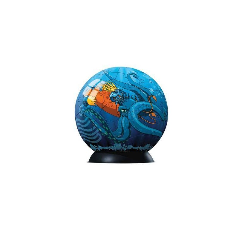 96916. Puzzle Ball 60 piezas Ravensburger, Gormiti
