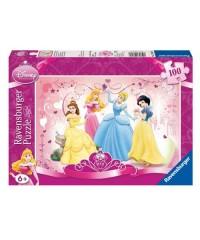 108169. Puzzle Ravensburger 100 piezas XXL, Princesa Feliz