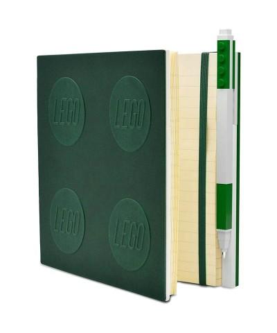 Cuaderno LEGO Verde con Bolígrafo