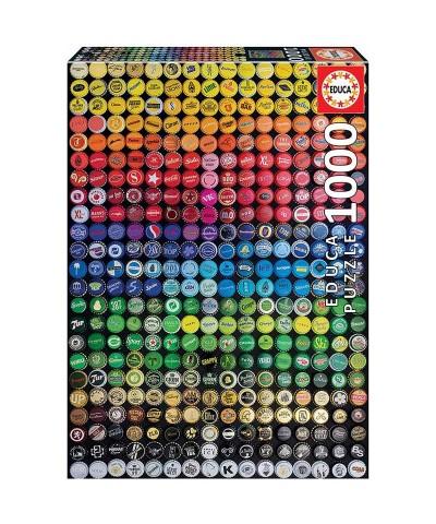 Puzzle 1000 Piezas Collage de Chapas