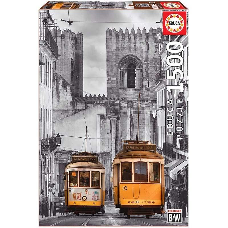 Puzzle 1500 Piezas Tranvía Barrio Alfama