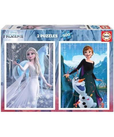 Puzzle 2x500 Piezas Frozen II