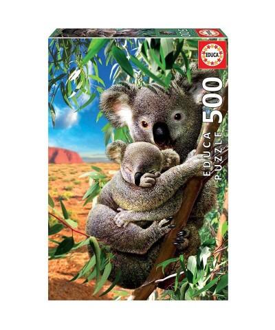 Puzzle 500 Piezas Koala con Cachorro