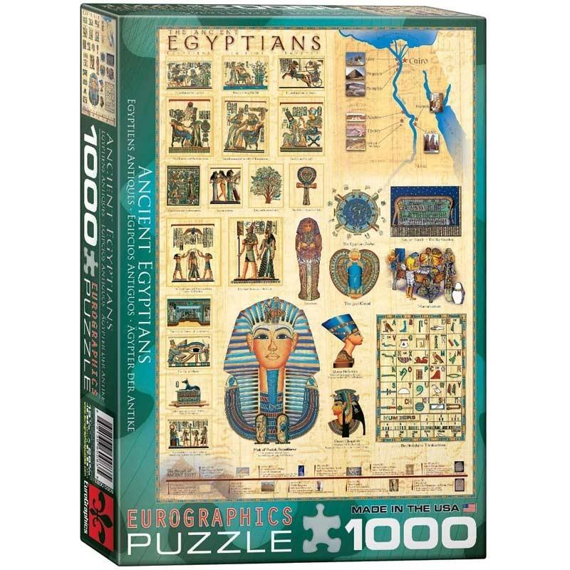Puzzle 1000 Piezas Egipcios Antiguos