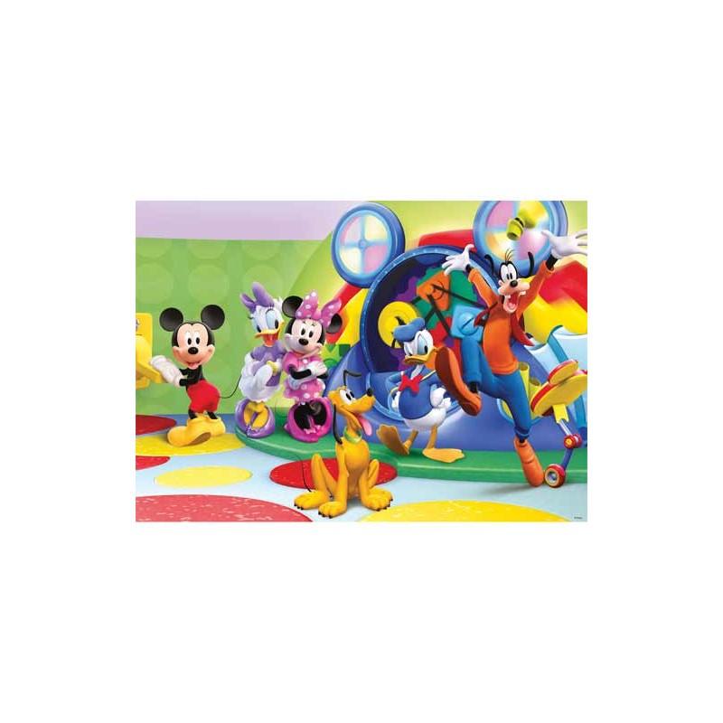 97562. Puzzle Ravensburger 125 piezas XXL, La Fiesta de Mickey