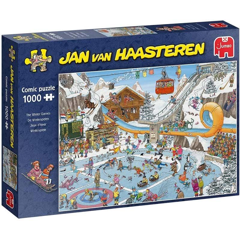 Puzzle 1000 Piezas Juegos de Invierno