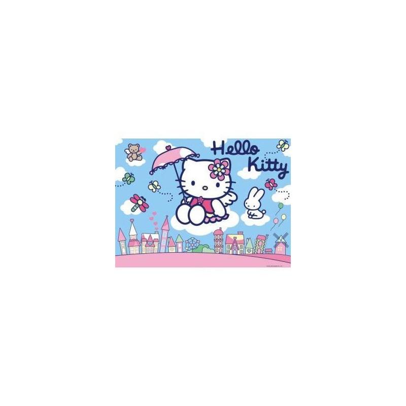 108015. Puzzle Ravensburger 100 piezas XXL, Hello Kitty