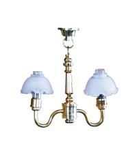 47052 Chaves. Lámpara de Techo de 2 brazos