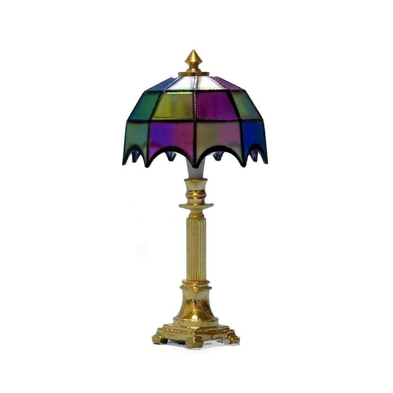 1611105 Chaves. Lámpara de mesa Tiffany de colores