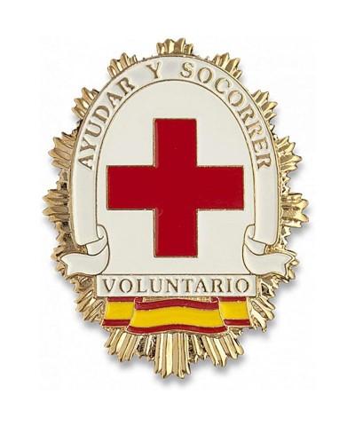 Placa Voluntario Cruz Roja
