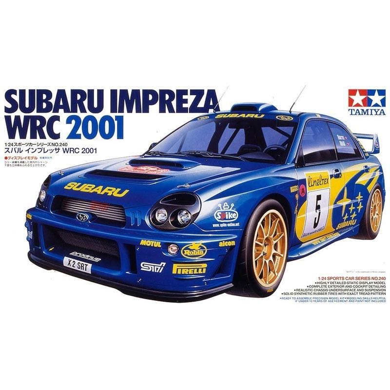 1/24 Subaru Impreza WRC 2001