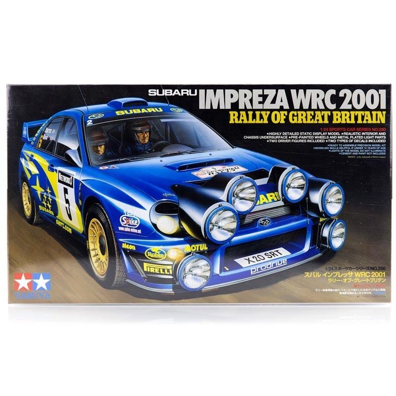 1/24 Subaru Impreza WRC 2001 Rally G.Bretaña