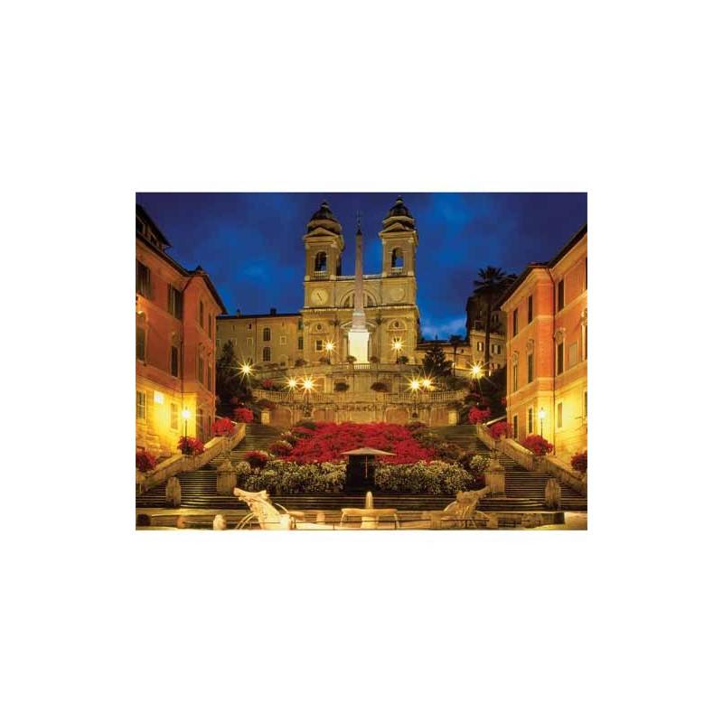 163700. Puzzle Ravensburger 1500 piezas Escalera de España, Roma