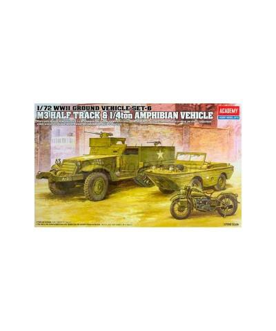 1/72 M3 Half Track & 1/4t Amphibian Vehicle