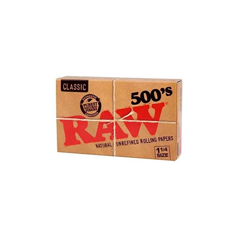 500 Papeles Classic RAW 1 1/4