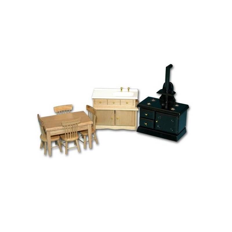 36119 Chaves. Conjunto Muebles de Cocina Rural
