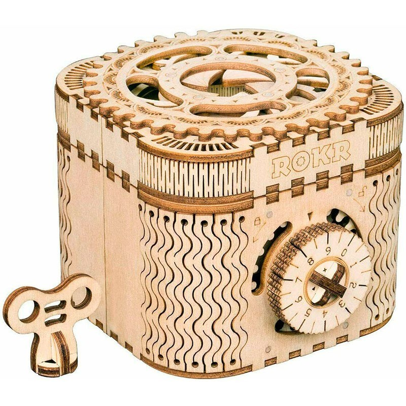 Puzzle de Madera 158 Piezas Caja de los Tesoros