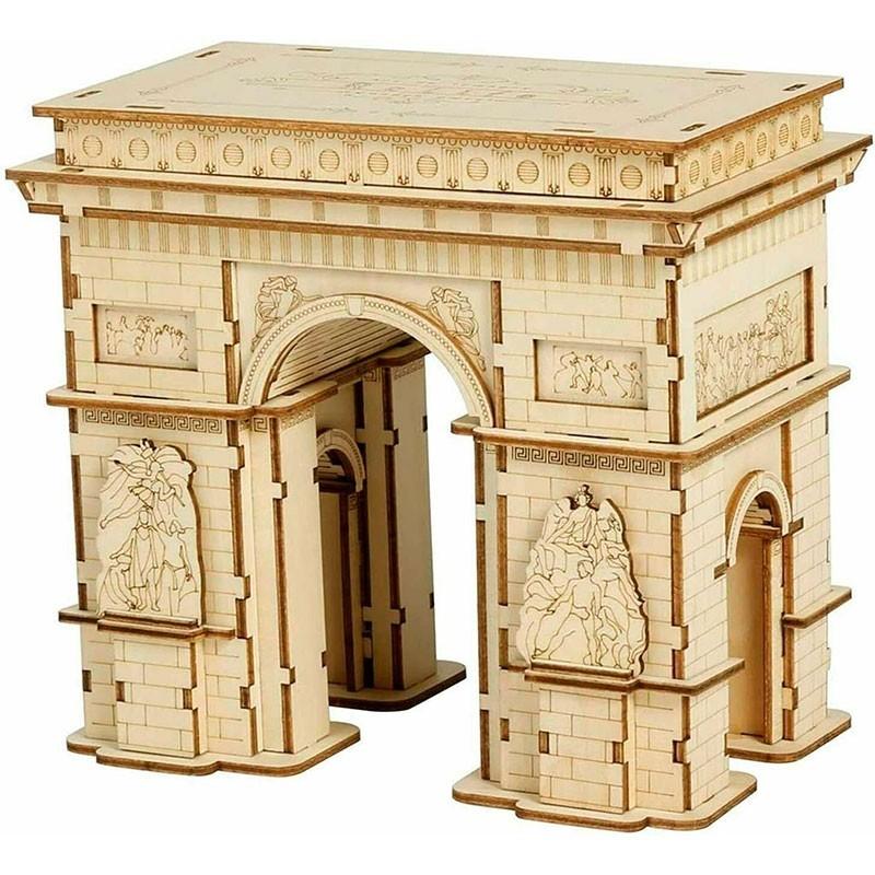 Puzzle de Madera 118 Piezas Arco del Triunfo