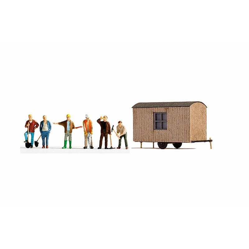 Caseta de Obras y Obreros H0