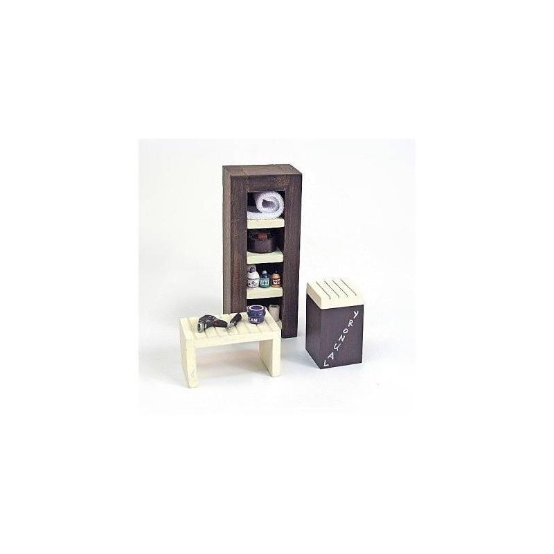 11241 Artesanía Latina. Pack de Muebles y utensilios de Baño