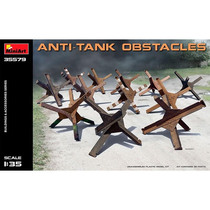1/35 Obstáculos Anti-Tanque